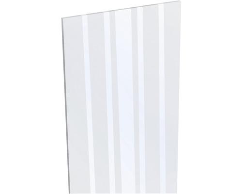 Designeinsatz Glas 180 x 30 cm