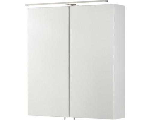 Spiegelschrank CO 60 FACKELMANN weiß 2 T 60x68 cm IP 20