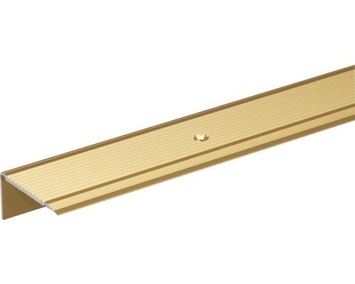 Treppenprofil Aluminium gold 45x23 mm, 2 m