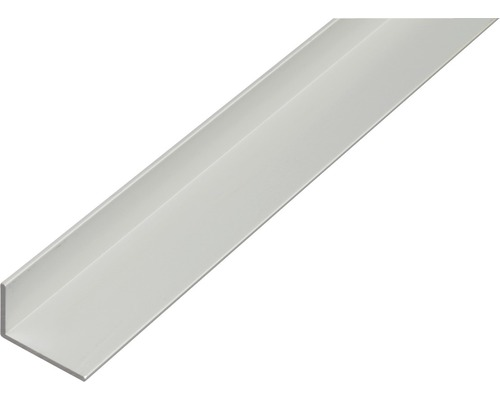 Winkelprofil Aluminium silber 40x20x2 mm, 2 m