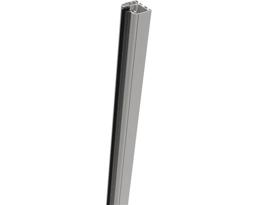Belfort Klemmschiene 180x4x3,5 cm links silbergrau