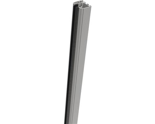 Belfort Klemmschiene 90x4x3,5 cm links silbergrau