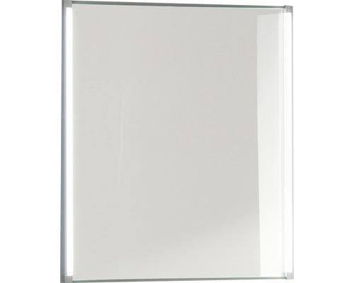 LED Badspiegel LED-Line 60x67 cm weiß FACKELMANN IP 20