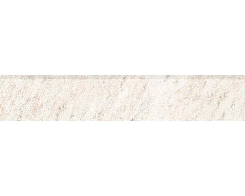 Sockel Quarzite Blanco 8x45 cm