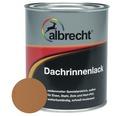 Albrecht Dachrinnenlack kupfer 750 ml