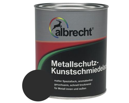 Albrecht Kunstschmiedelack schwarz 375 ml