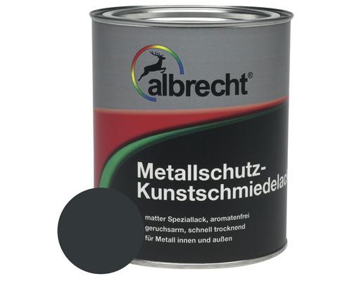 Albrecht Kunstschmiedelack anthrazit 375 ml