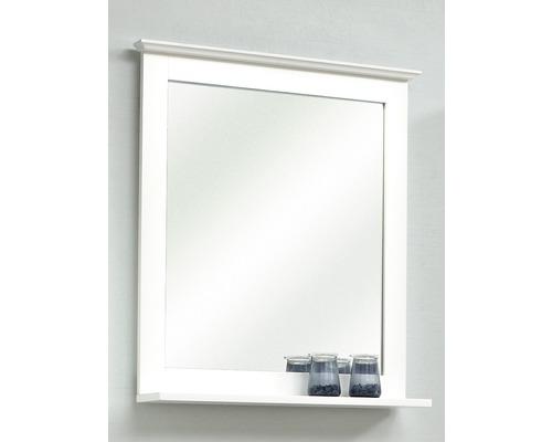 Holzspiegel pelipal Jasper mit Ablage 68x60 cm weiß