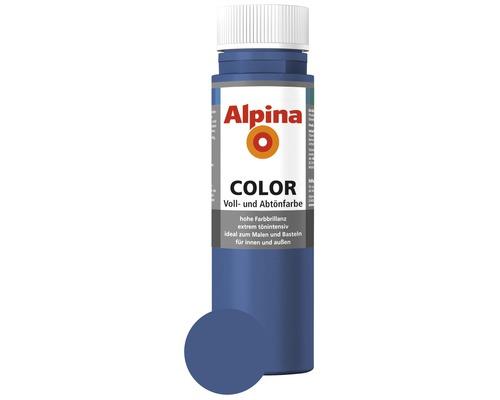 Alpina Voll- und Abtönfarbe Mystery Blue 250 ml