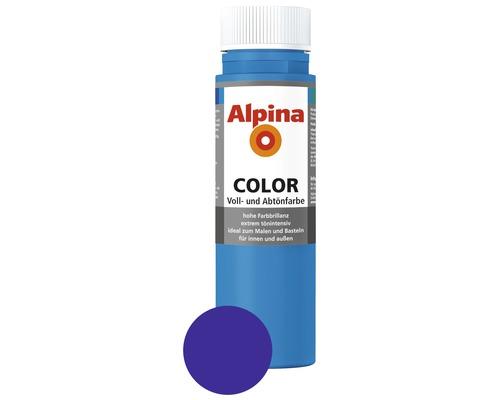 Alpina Voll- und Abtönfarbe Royal Blue 250 ml
