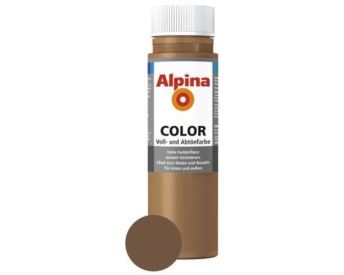 Alpina Voll- und Abtönfarbe Candy Brown 250 ml