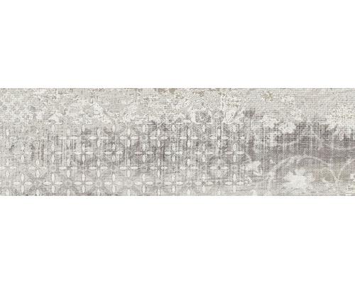 Feinsteinzeug Dekorfliese Origen Gris 20 x 60 cm