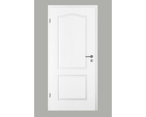 Zimmertür Pertura Pila 02B Weißlack 86,0x198,5 cm Links