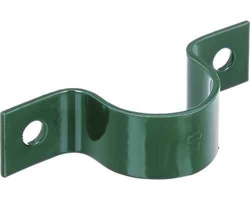 Rohrschelle für 38 mm Streben, grün