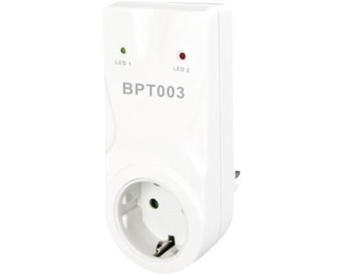 Funkzwischensteckdose BPT003 weiß