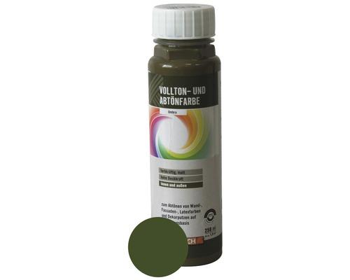 Volltonfarbe Abtönfarbe umbra 250 ml