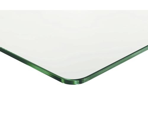 Glas-Regalboden Standard B 800 x T 300 x H 8 mm, klar