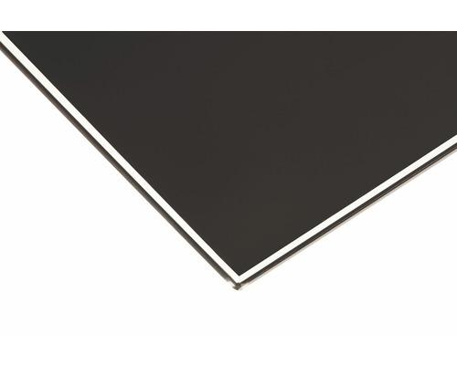 Glas-Regalboden Square B 800 x T 200 x H 8 mm, schwarz
