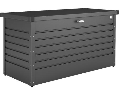 Auflagenbox biohort FreizeitBox 180, 181 x 79 x 71 cm, dunkelgrau-metallic