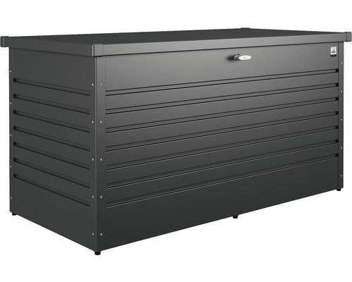 Auflagenbox biohort 160 High 159 x 79 x 83 cm dunkelgrau-metallic
