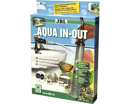 Wasserwechselset JBL Aqua In-Out Komplett-Set