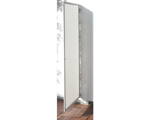 Paravent 1-teilig silbergrau 70x170 cm