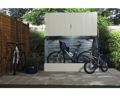 Fahrradbox tepro 196 x 89 x 133 cm, beige