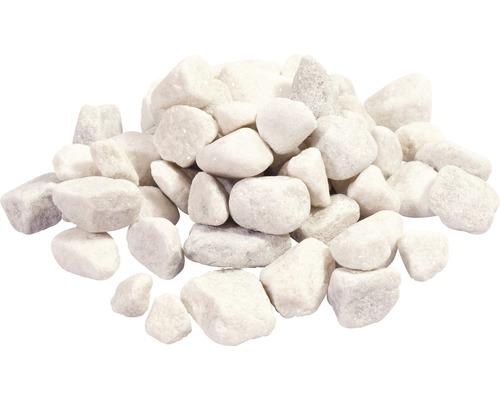 Marmorkies Carrara 15-25 mm 250 kg weiß