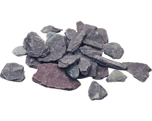 Schieferplättchen Splitt Canadian Slate 15-30 mm 250 kg violett