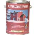 Holzfarbe Wetterschutzfarbe braun 2,5 L