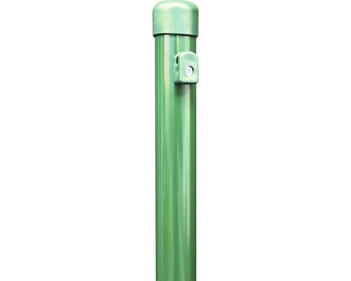 Zaunpfosten Ø 3,8 x 250 cm, für Höhe 200 cm, grün