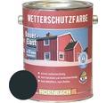 Holzfarbe Wetterschutzfarbe anthrazitgrau 2,5 L
