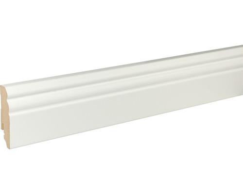 Sockelleiste weiß FU73L 18x70x1200 mm