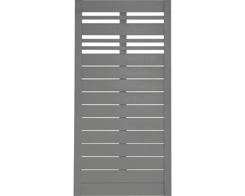 Teilelement Konsta Reddy 90 x 180 cm, grau