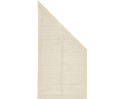 Abschlusselement Konsta Venga rechts 90 x 180/90 cm, natur