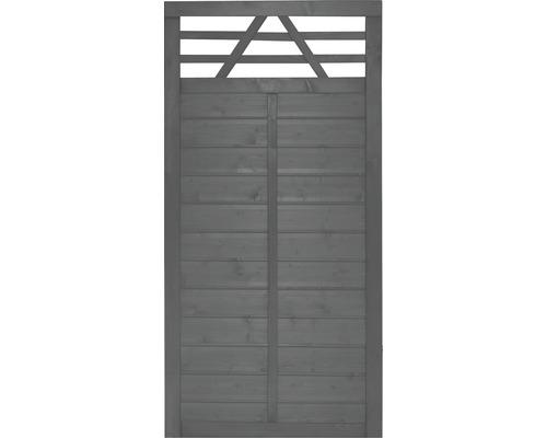 Teilelement Konsta Venga 90 x 180 cm, anthrazit