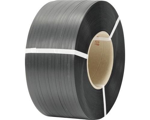PP-Umreifungsband 12 x 0,55 mm Kern 20 cm schwarz
