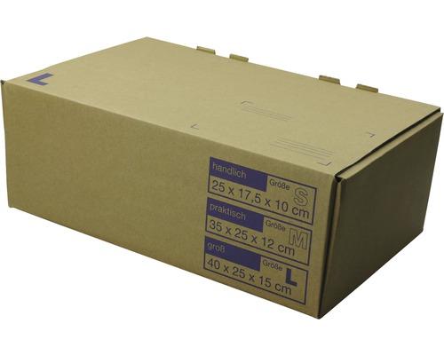 Versandkarton Cargo Point 400 x 250 x 150 mm