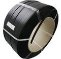 PP-Umreifungsband 12 x 0,55 mm Kern 28 cm schwarz
