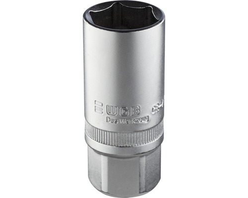 "1/2"" Zündkerzen-Einsatz WGB, 21 mm"