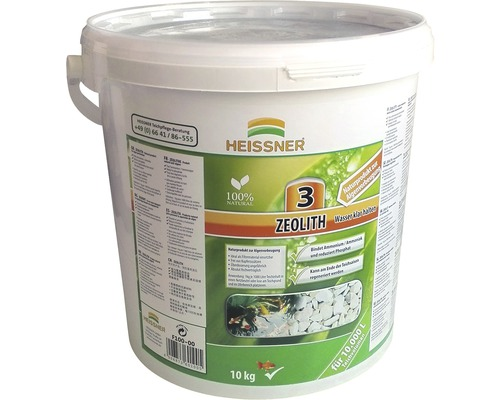 Zeolith HEISSNER für den Gartenteich 10 L