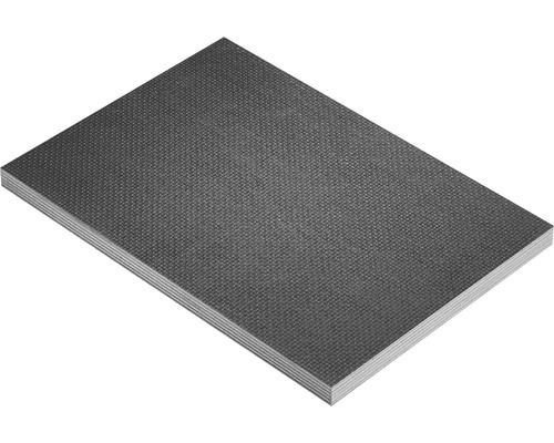 Fixmaß Siebdrucksperrholz Pappel Sieb/Film 1250x625x12 mm