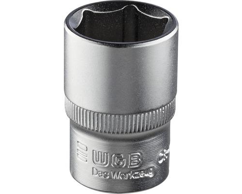 """1/2"""" Steckschlüssel-Einsatz WGB, 6-kant, 17 mm"""