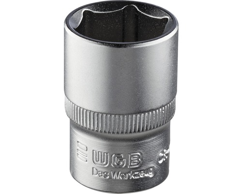 """1/4"""" Steckschlüssel-Einsatz WGB, 6-kant, 7 mm"""