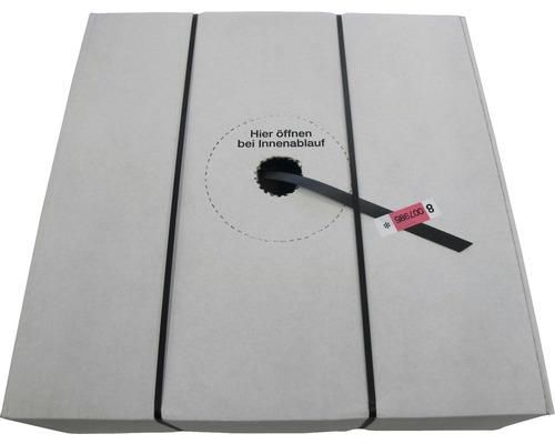 PP-Umreifungsband schwarz im Spenderkarton