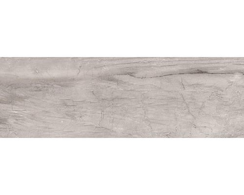 Steingut Wandfliese Terra Grey 25 x 75 cm