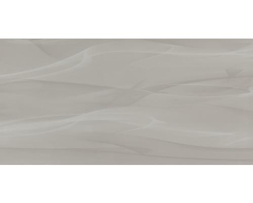 Steingut Wandfliese Macao Grau 30 x 60 cm