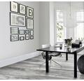 Feinsteinzeug Wand- und Bodenfliese Chalet silver grey 15 x 90 cm