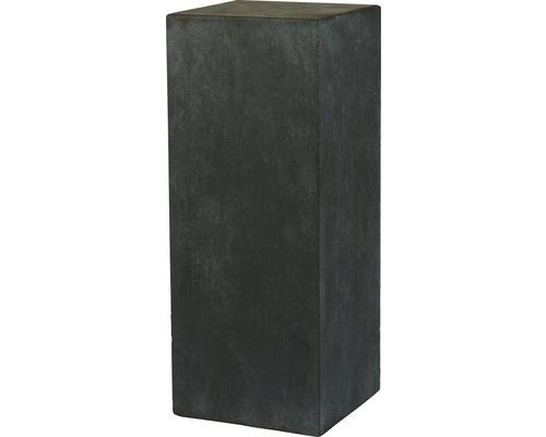 Sockel Dublin Pilar Fiberglas 33 x 33 x 90 cm, dunkelgrau