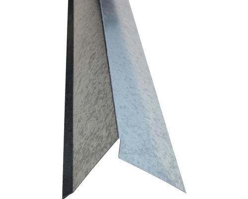 PRECIT Ortblech ohne Wasserfalz verzinkt 2000 x 105 x 95 mm